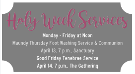 Holy Week  2017 small